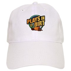 Plays in Dirt Baseball Cap