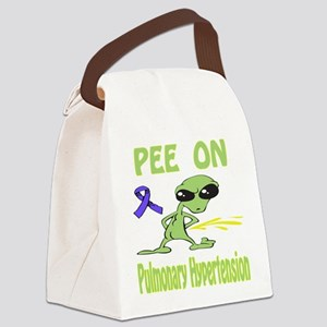 Pee on Pulmonary Hypertension Canvas Lunch Bag