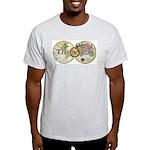Classic Travel Addict Ash Grey T-Shirt