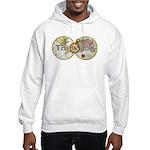 Classic Travel Addict Hooded Sweatshirt