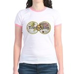 Classic Travel Addict Jr. Ringer T-Shirt