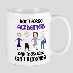Dont Forget Alzheimers Mug