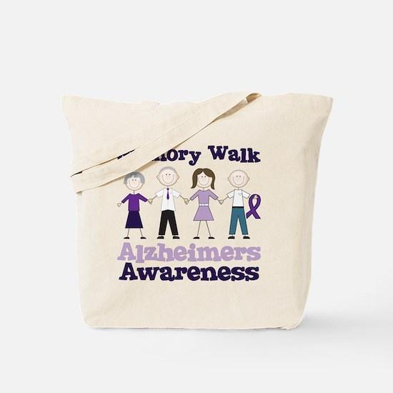 Memory Walk Tote Bag