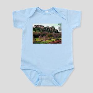 Edinburgh Castle View Infant Bodysuit