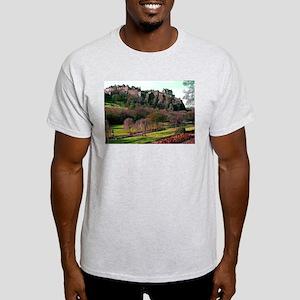 Edinburgh Castle View Light T-Shirt
