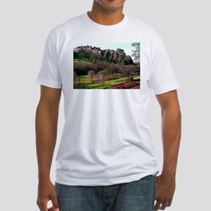 Edinburgh Castle View Fitted T-Shirt