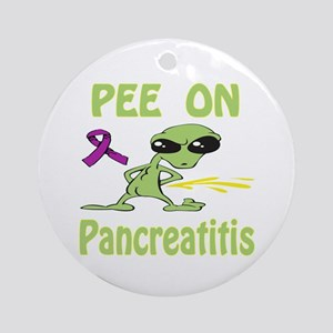 Pee on Pancreatitis Ornament (Round)