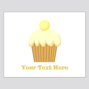 Vanilla Cupcake and Text. Small Poster