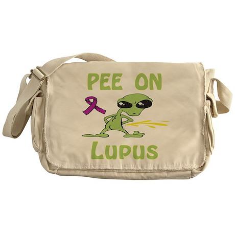 Pee on Lupus Messenger Bag