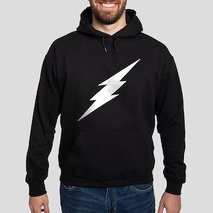 TD-Lightning Bolt White Sweatshirt