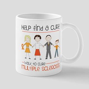 Walk To Cure Mug
