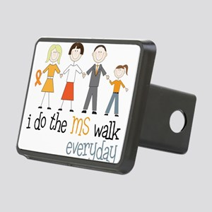 The MS Walk Rectangular Hitch Cover