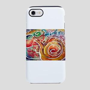Music! Fun, colorful, trumpet iPhone 7 Tough Case