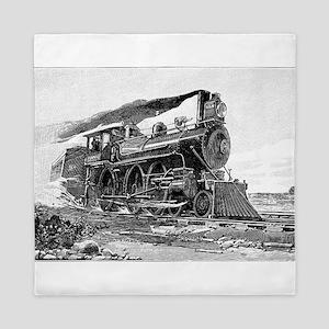 Steam Locomotive Queen Duvet