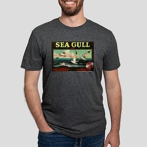 Sea Gulls Mens Tri-blend T-Shirt