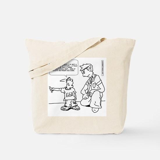 Cute Mentalism Tote Bag