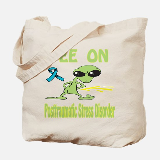 Pee on Posttraumatic Stress Disorder Tote Bag