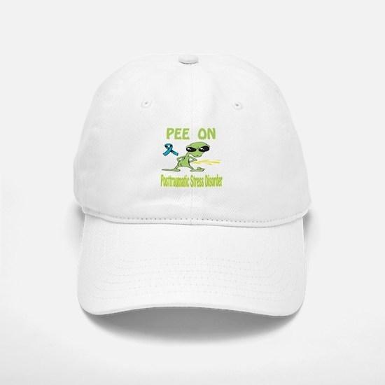 Pee on Posttraumatic Stress Disorder Baseball Baseball Cap