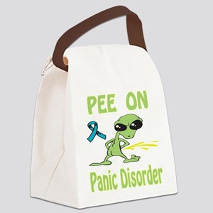 Pee on Panic Disorder Canvas Lunch Bag