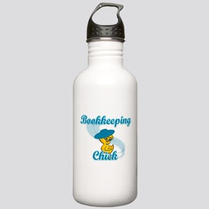 Bookkeeping Chick #3 Stainless Water Bottle 1.0L