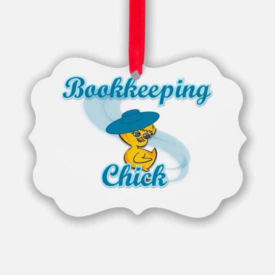 Bookkeeping Chick #3 Ornament