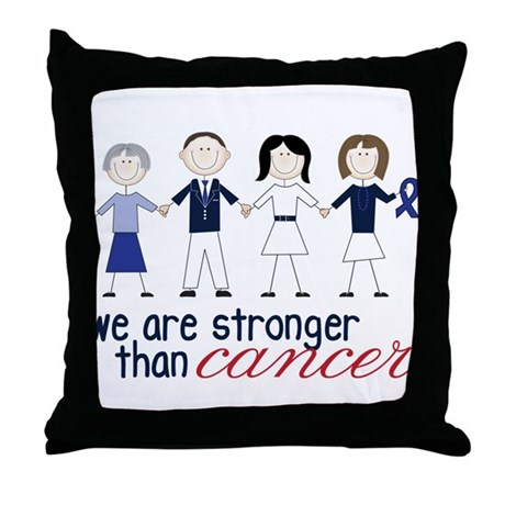 We Are Stronger Throw Pillow