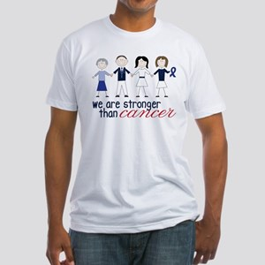 We Are Stronger Fitted T-Shirt
