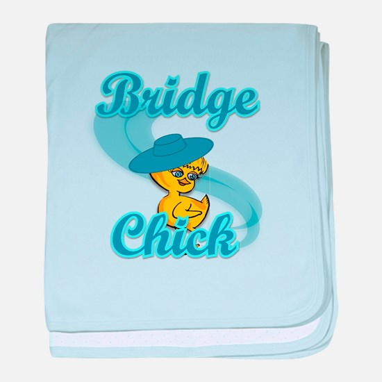 Bridge Chick #3 baby blanket