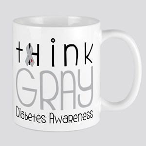 Think Gray Mug