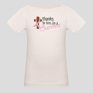Im A Survivor Organic Baby T-Shirt