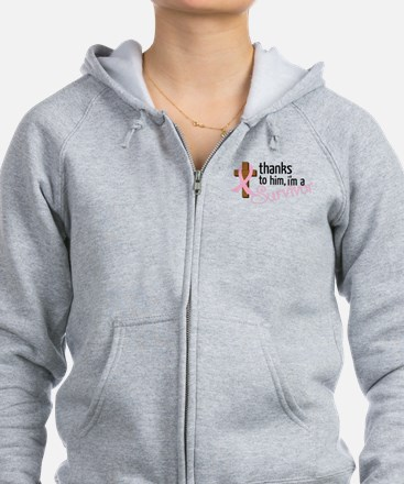 Im A Survivor Zip Hoody