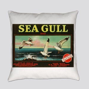 Sea Gulls Everyday Pillow