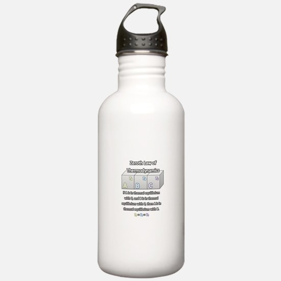 Zeroth Law of Thermodynamics Water Bottle