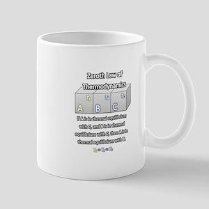 Zeroth Law of Thermodynamics Mug