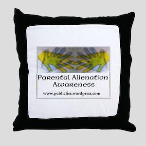 Parental Alienation Awareness Throw Pillow