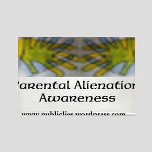Parental Alienation Awareness Rectangle Magnet