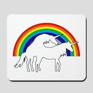 Humping Unicorns Mousepad
