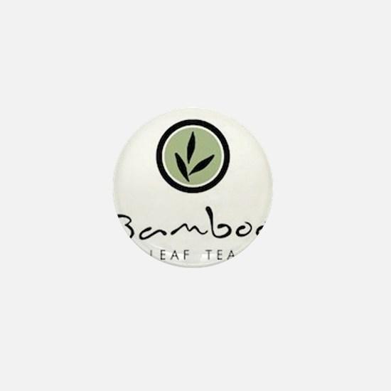 Bamboo Leaf Tea logo Mini Button