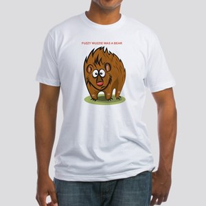 Fuzzy Wuzzie Fitted T-Shirt