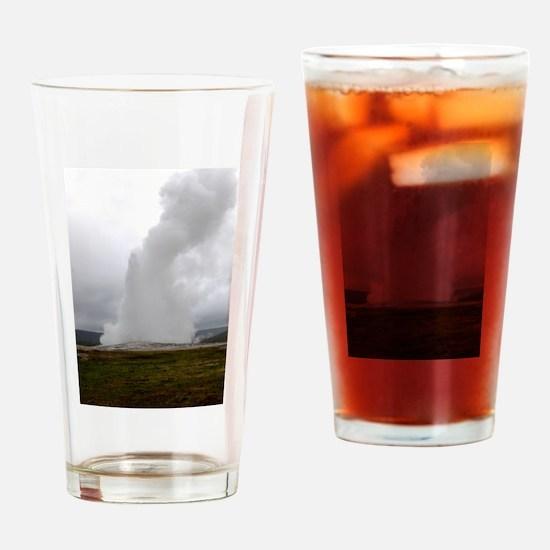 Old Faithful Geyser Drinking Glass