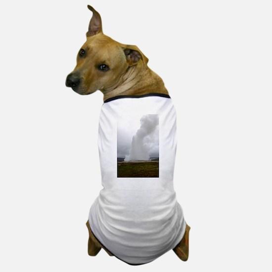 Old Faithful Geyser Dog T-Shirt