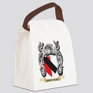 Cousteau Family Crest - Cousteau Canvas Lunch Bag