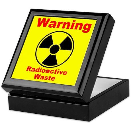 Radioactive Waste Keepsake Box