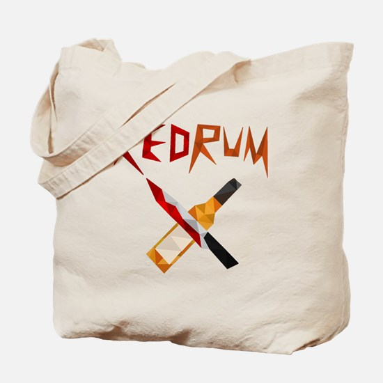 Official RedRum Podcast Logo - Transparent Tote Ba