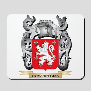 Covarrubias Family Crest - Covarrubias C Mousepad
