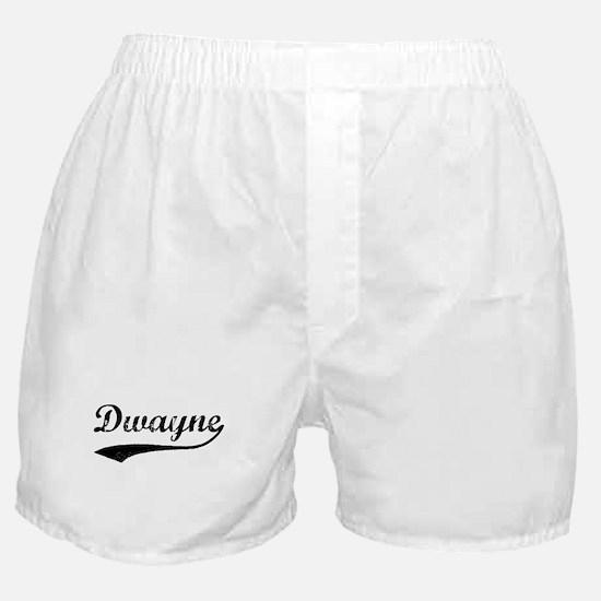 Vintage: Dwayne Boxer Shorts