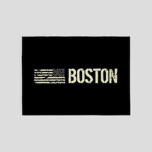 Black Flag: Boston 5'x7'Area Rug