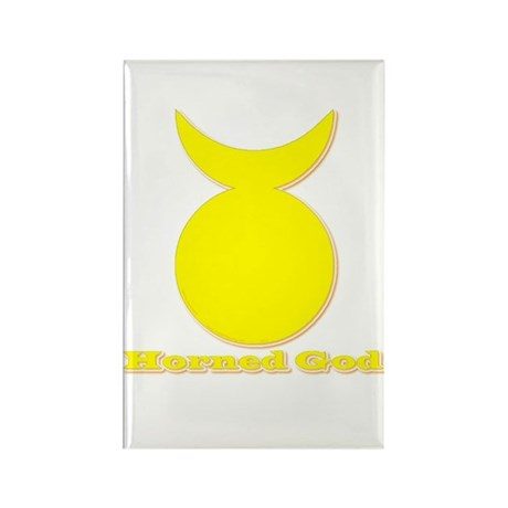 Horned God Rectangle Magnet (10 pack)