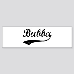 Vintage: Bubba Bumper Sticker