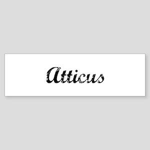 Vintage: Atticus Bumper Sticker